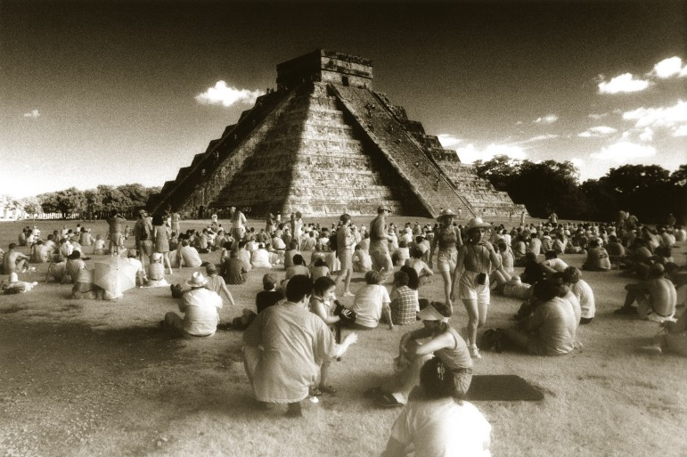Mayan Equinox Infrared Black & White